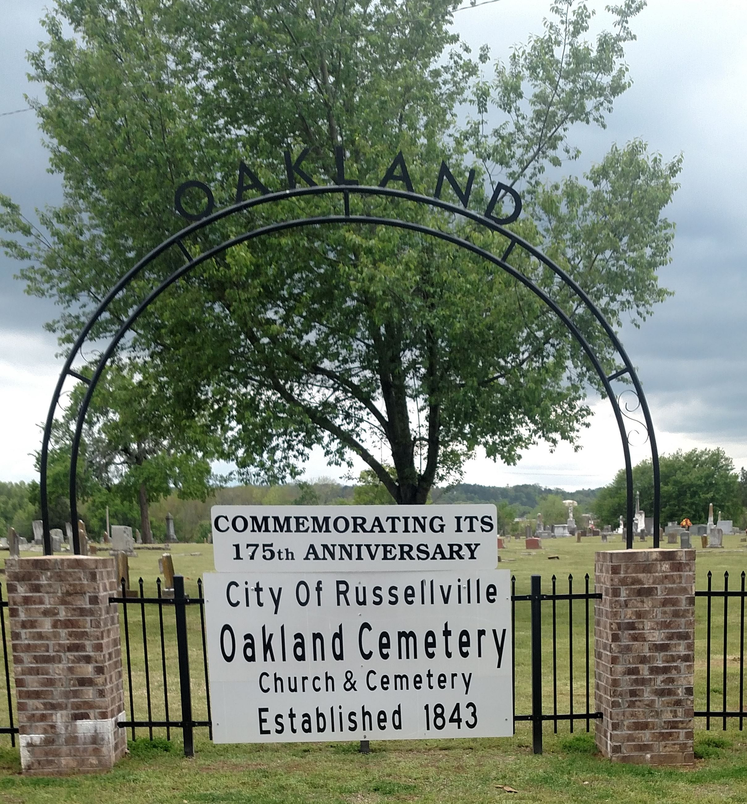 Oakland Cemetery 175th