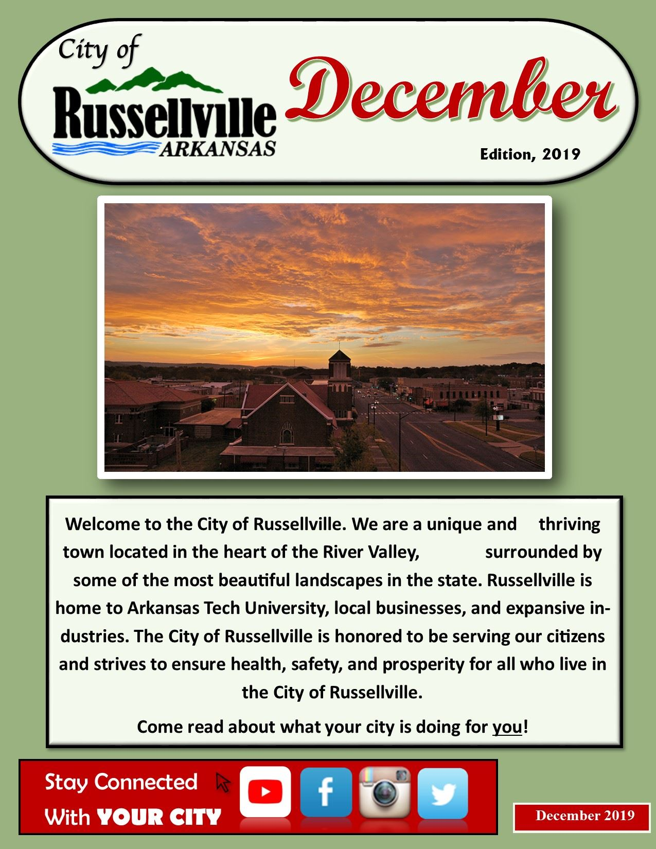 City Newsletter - December 2019